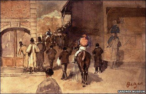 Degas' La Sortie de Pesage