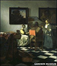 Vermeer, The Concert, 1658-1660