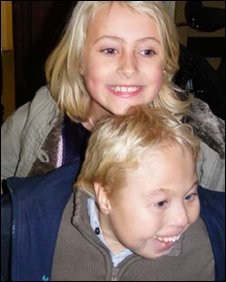 Callum Wombwell and his sister Lydia