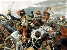 Artist impression of Crimean War Picture courtesy National Army Museum