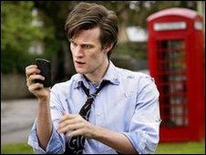 Matt Smith in a scene from Doctor Who