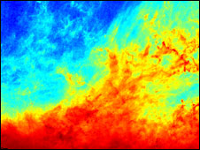 Filamentary clouds of dust (Esa)