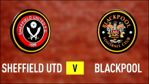 Sheffield United 3-0 Blackpool