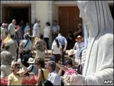 The town of Medjugorje in 2006