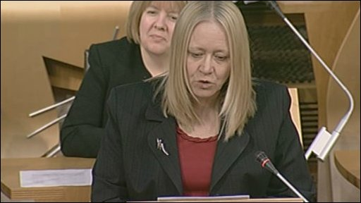 Labour MSP Cathy Jamieson led the debate