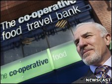 Co-op chief executive Peter Marks