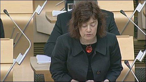 Labour MSP Sarah Boyack led the debate