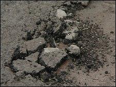 Residents' anger over Tiverton street's 300 potholes