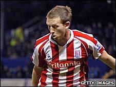Stoke City defender Danny Collins