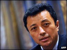 Former president Marc Ravalomanana
