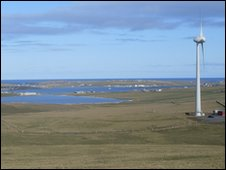 Turbine on Westray