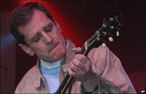 Alex Chilton at at the South by Southwest Music Festival in 2004