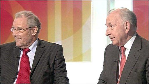Richard Caborn and John Horam