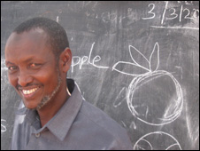 Kenyan teacher Hassan Farah