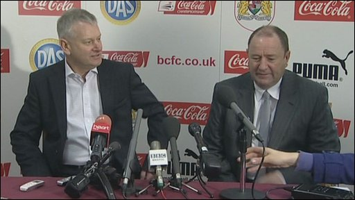 Steve Lansdown and Gary Johnson