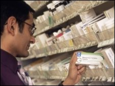 Hospital pharmacy. Pic:John Cole, SPL