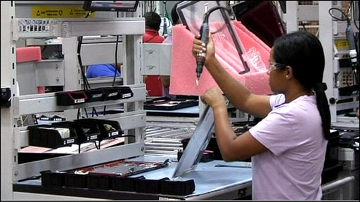 Making laptops in Brazil