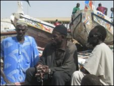 fishermen in kayar senegal