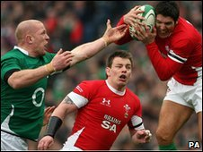 Ireland play Wales in the Six Nations
