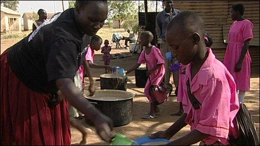 Uganda food distribution