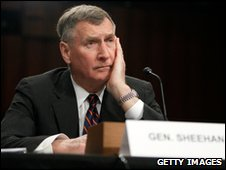 Gen John Sheehan at the US Senate, 18 March