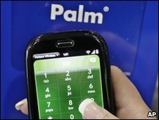 Palm Pre handset