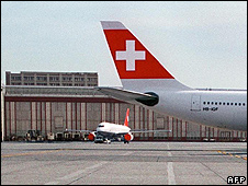 Zurich airport - file pic
