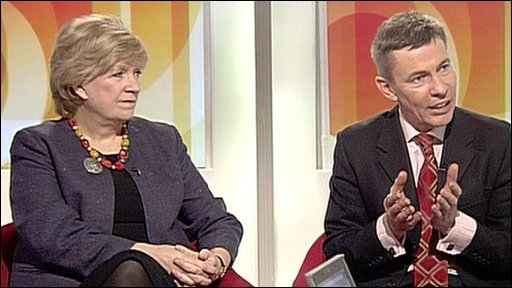 Polly Toynbee and Andrew Pierce