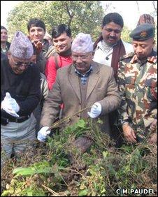 Prime Minister Madhab Kumar Nepal