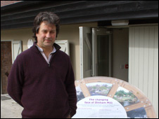 Hugo Spowers at the new Riversimple HQ in Ludlow