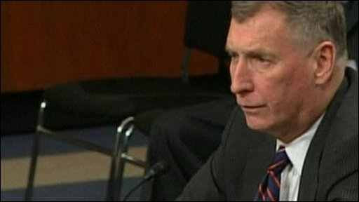 Retired US General John Sheehan