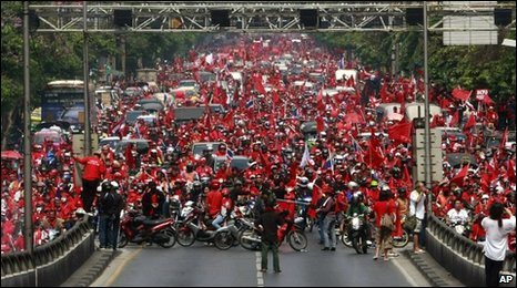 Red-shirt rally in Bangkok - 20 March 2010
