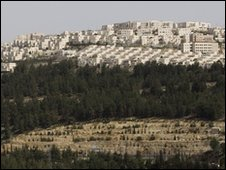 View of East Jerusalem neighbourhood of Ramat Shlomo - 11 March 2010