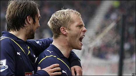 It was Eidur Gudjohnsen's first Premier League goal for four years