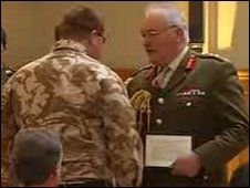 Rfn Jacobs awarded the George Cross