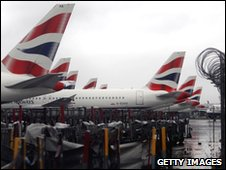 Grounded BA planes
