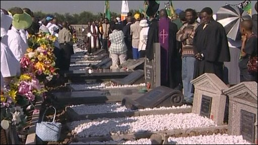 Graves at Sharpeville