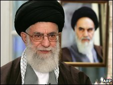Ayatollah Ali Khamenei speaks on 20 March 2010