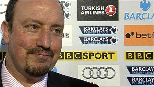 Liverpool boss Rafael Benitez