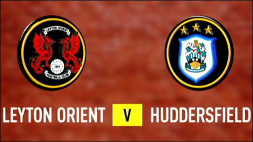 Leyton Orient 0-2 Huddersfield