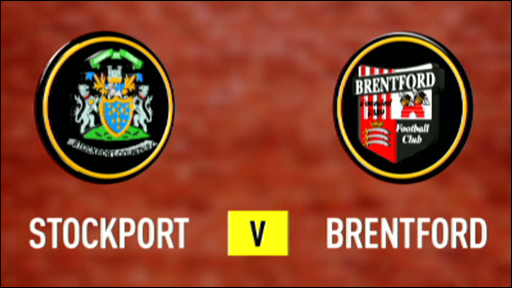 Stockport 0-1 Brentford