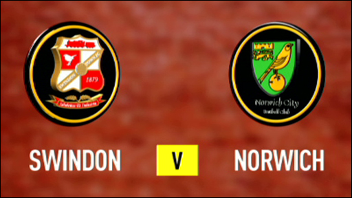 Swindon 1-1 Norwich