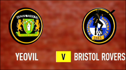 Yeovil 0-3 Bristol Rovers