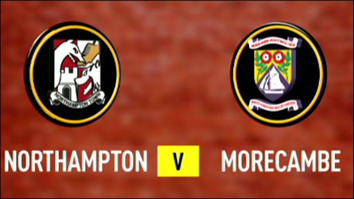 Northampton 2-0 Morecambe