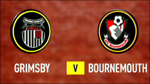 Grimsby 3-2 Bournemouth