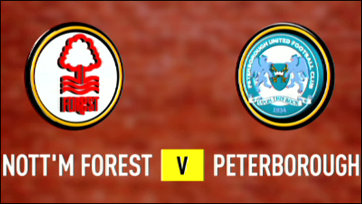 Nottingham Forest v Peterborough United