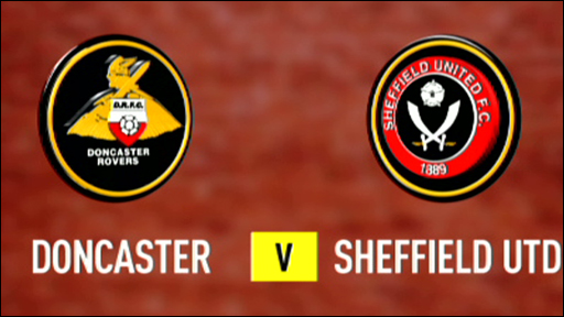 Doncaster Rovers v Sheffield United