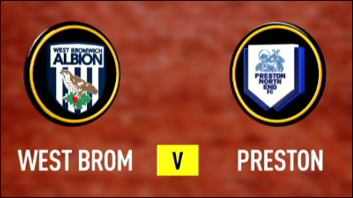 West Bromwich Albion v Preston North End