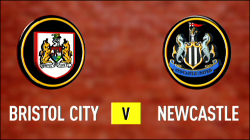 Bristol City v Newcastle United