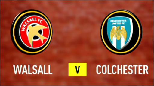Walsall v Colchester